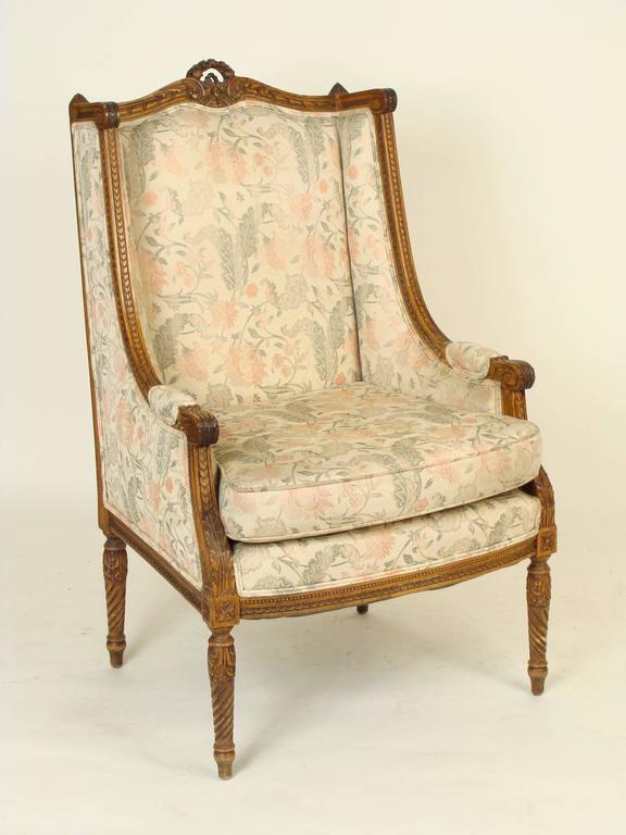 Pair of Louis XVI Bergères 2