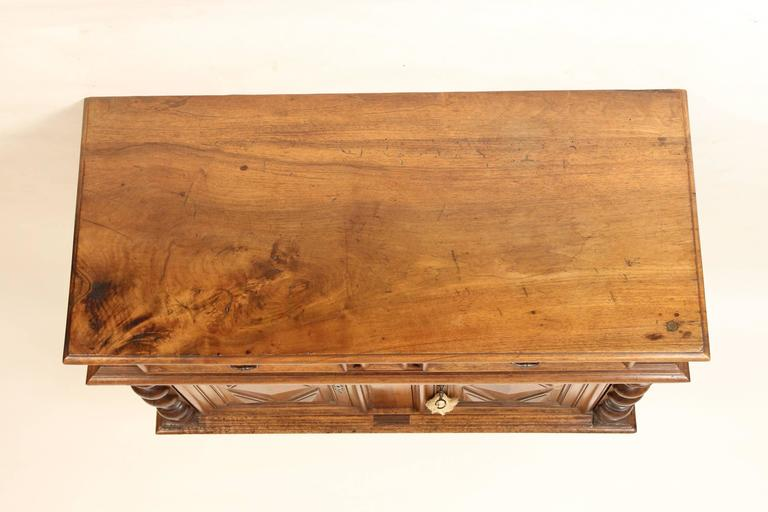 cabinet stain louis xiv style walnut buffet at 1stdibs 13052