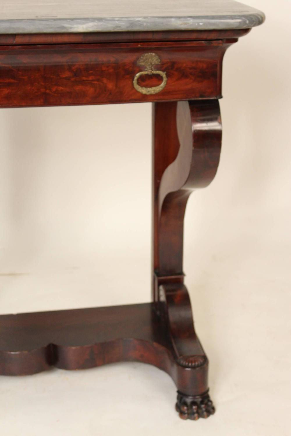 Louis philippe console table for sale at 1stdibs - Used console table for sale ...
