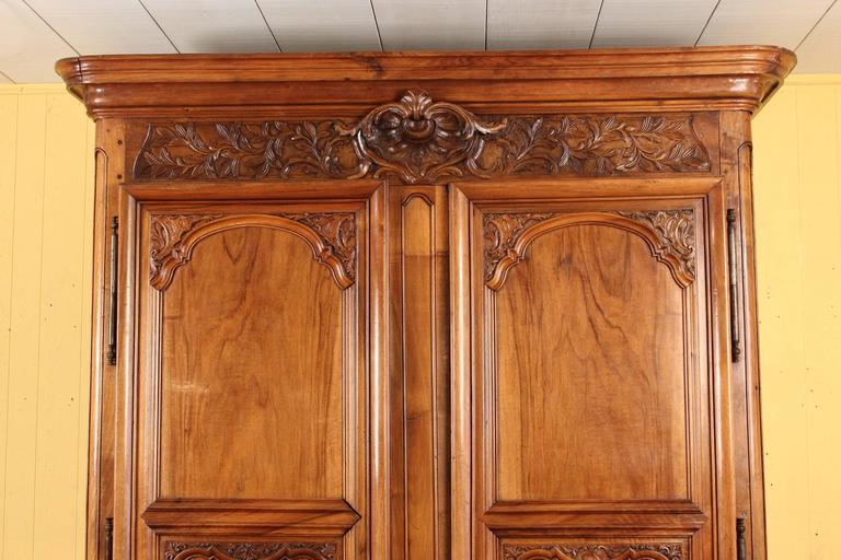 French Louis XIV Style Armoire For Sale
