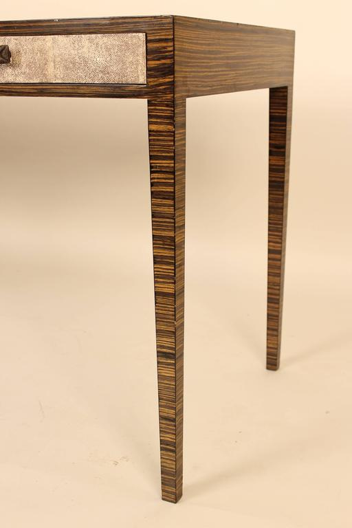 Zebra Wood Desk At 1stdibs