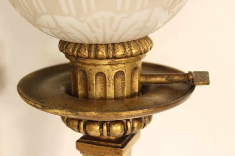 Pair of Louis XIV Style Gilt Bronze Wall Sconces For Sale 1
