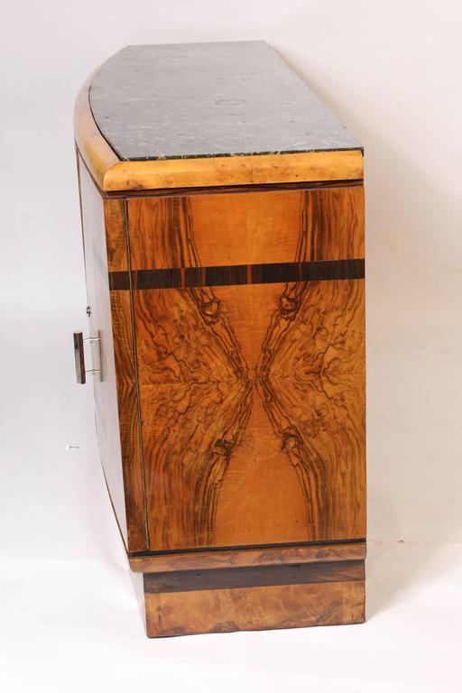 Art Deco Burl Walnut Sideboard 3