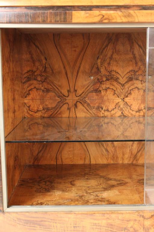 Art Deco Burl Walnut Sideboard 6