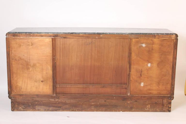 Art Deco Burl Walnut Sideboard 10