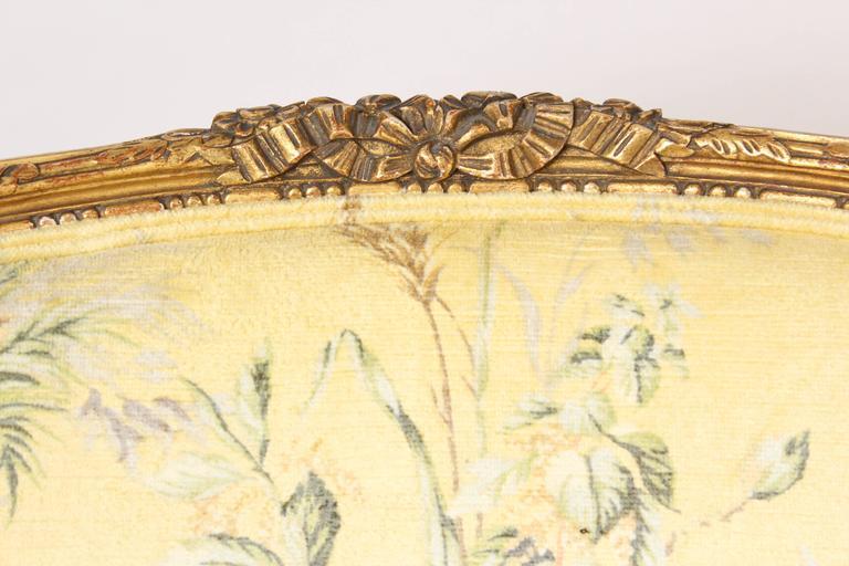 Pair of Louis XVI Style Bergeresd 3