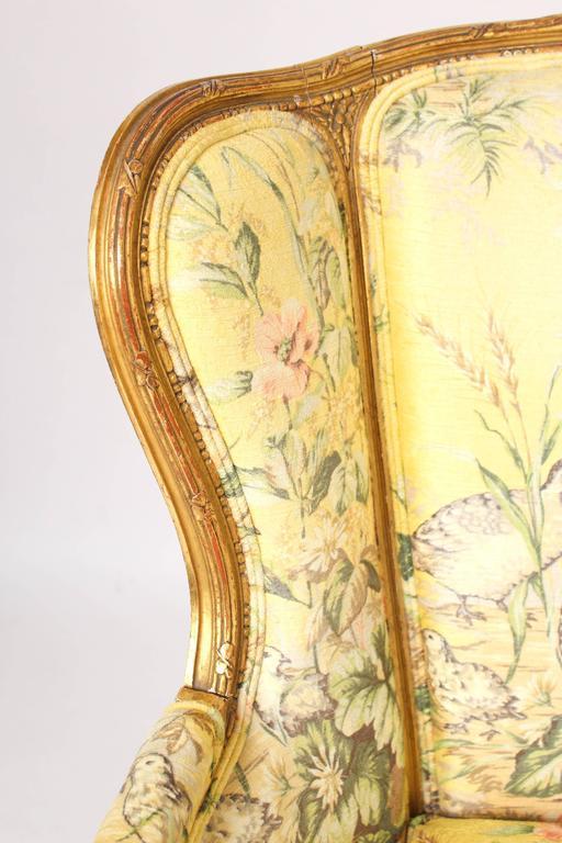 Pair of Louis XVI Style Bergeresd 4