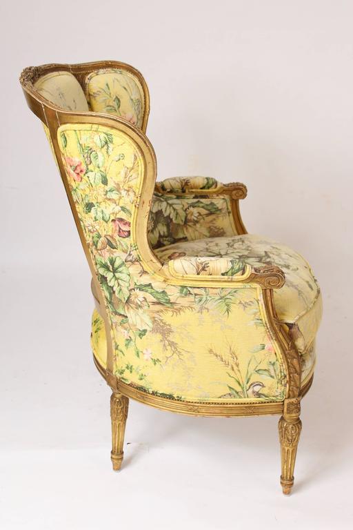 Pair of Louis XVI Style Bergeresd 8