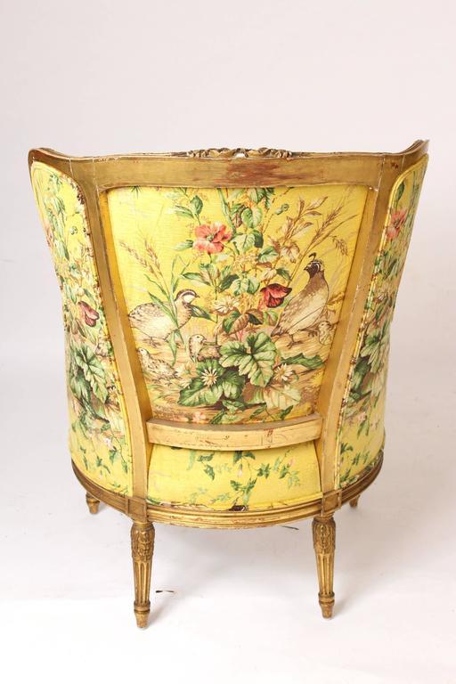 Pair of Louis XVI Style Bergeresd 9