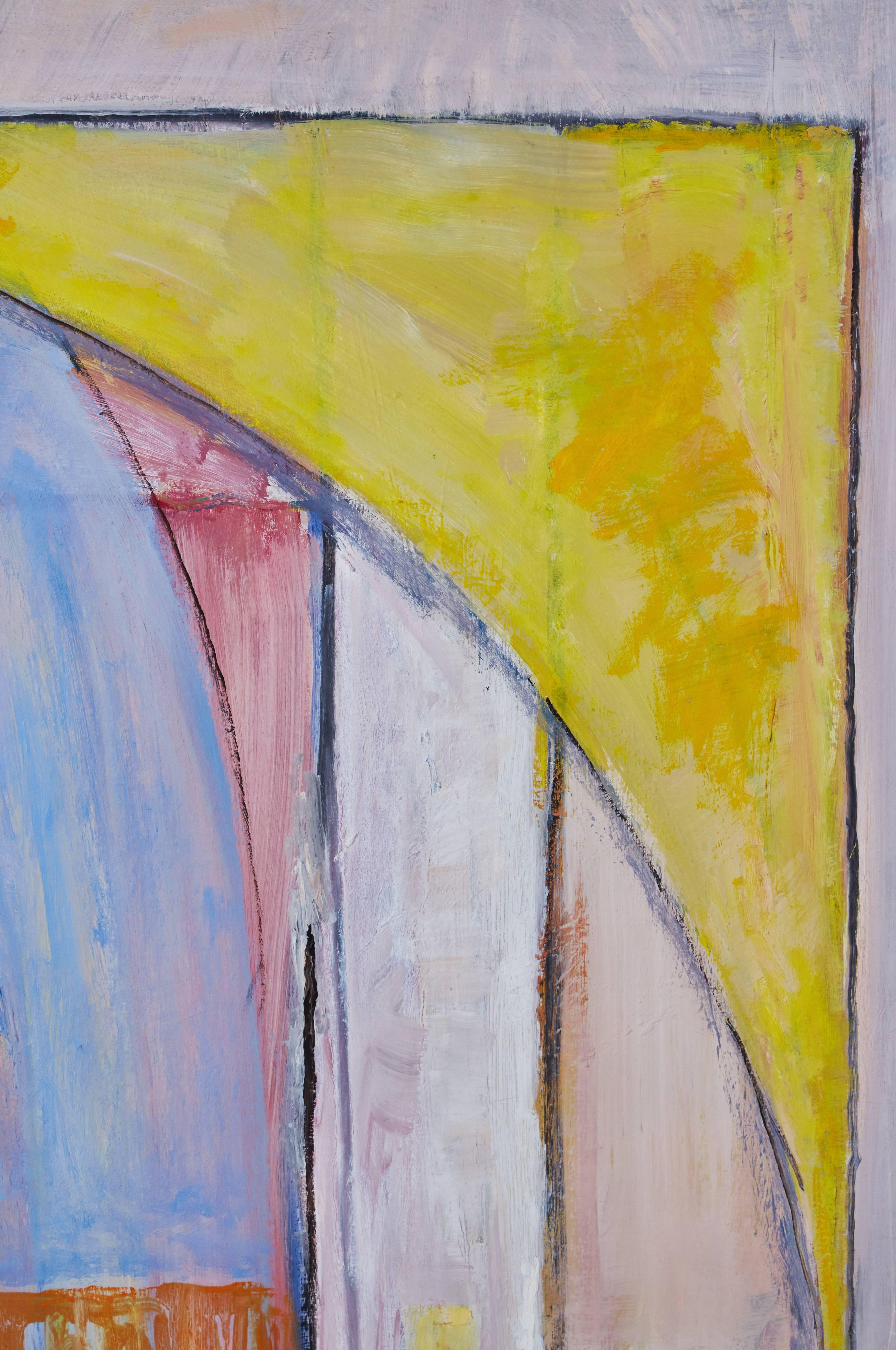 Signed, Abstract Oil Painting by David Sorensen For Sale at 1stdibs