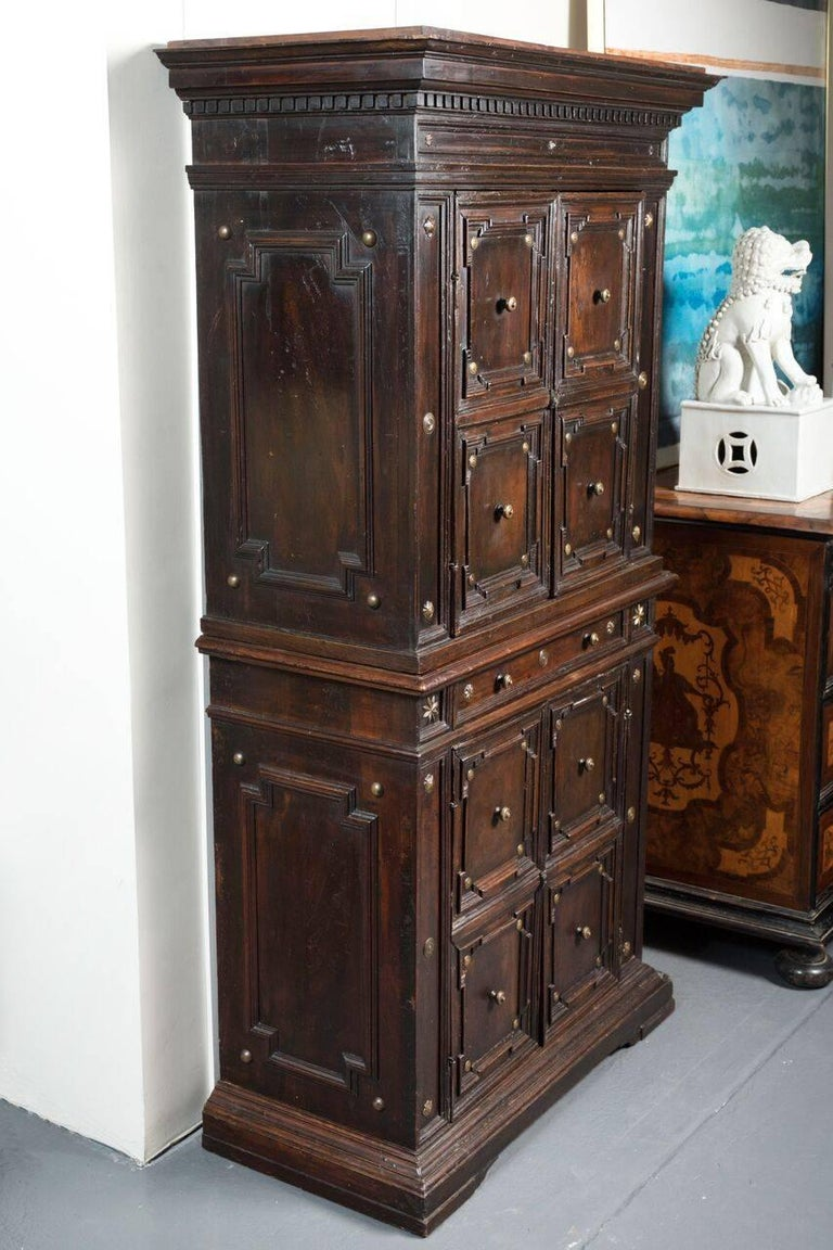 Handsome 19th century tuscan cabinet for sale at 1stdibs for 19th century kitchen cabinets