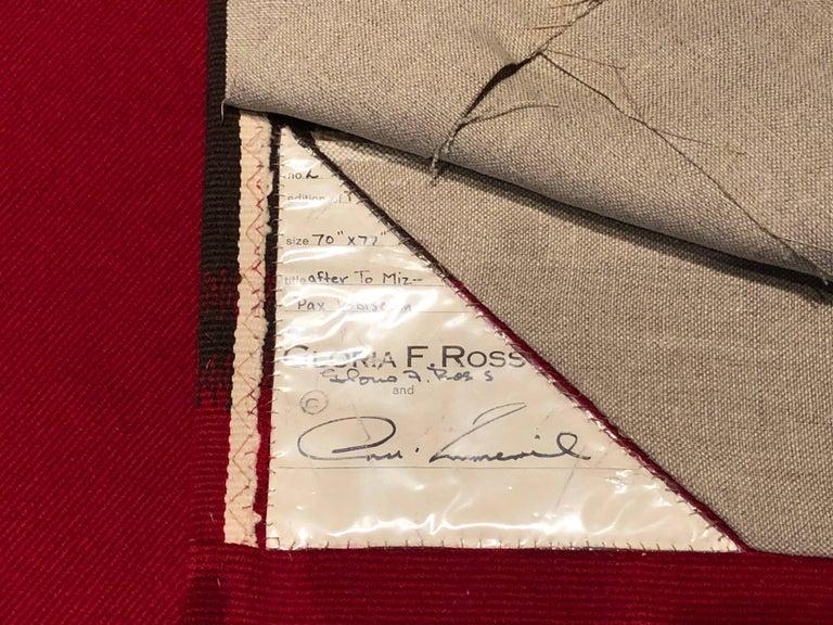 Mid-Century Modern Hans Hofmann Aubusson Tapestry For Sale