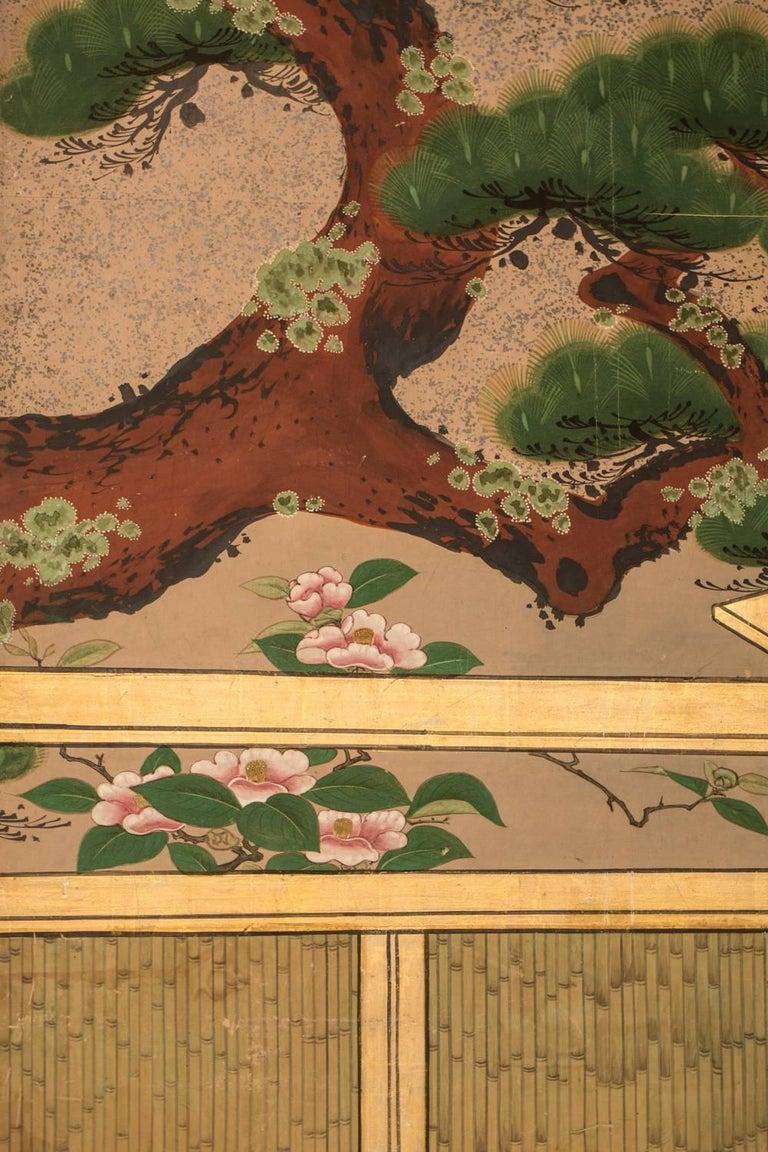 Japanese Six Panel Screen,