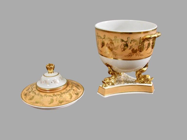 Porcelain 18-Piece Regency Dessert Set For Sale