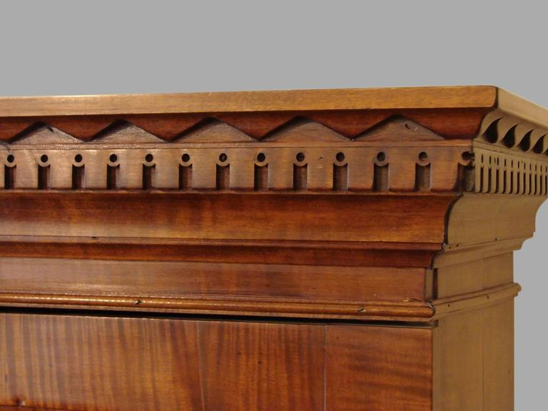 18th Century American Maple Secretary Bookcase 1