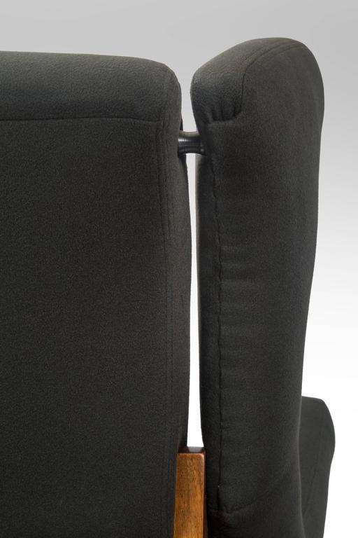 Franco Albini, Pair of Rare Italian Fiorenza Upholstered Armchairs 10