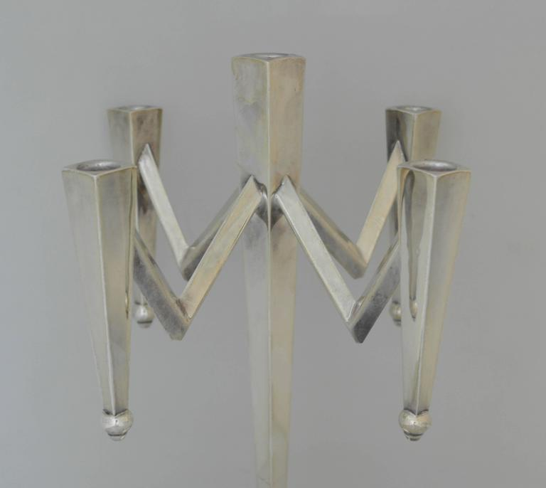 Incredible, Large Mexican Sterling Silver Modernist Five ... - photo#28
