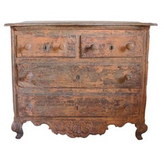 Peach Chest of Drawers