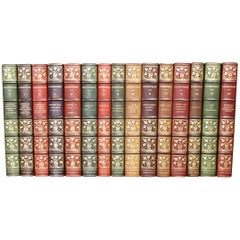 Books, The Works of William Shakespeare, Antique Leather-Bound Collections
