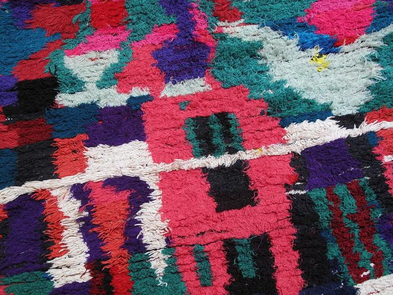 Tribal Azilal Moroccan Berber Rug For Sale
