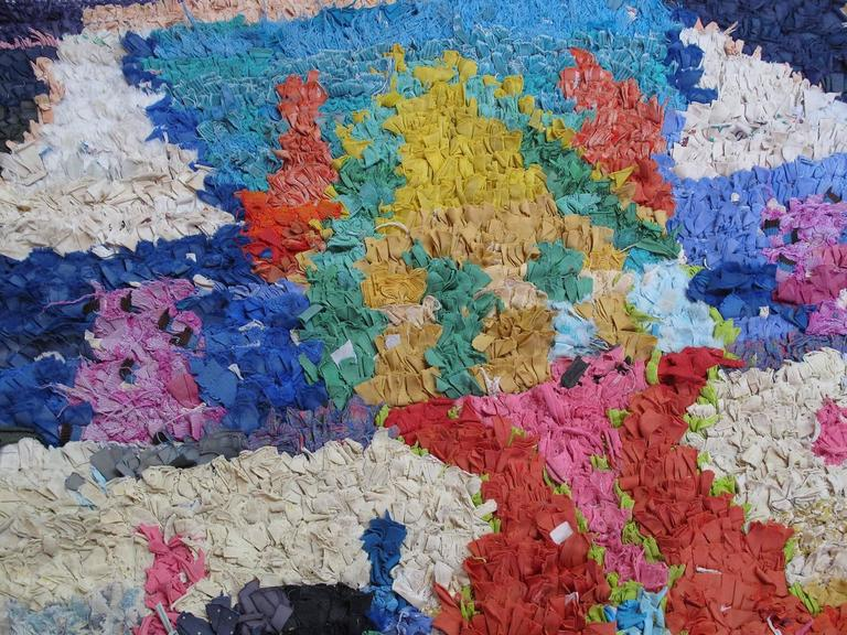 Hand-Knotted Moroccan