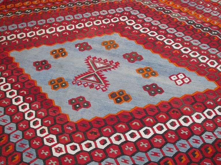 Hand-Woven Superb Antique Sharkisla Kilim For Sale