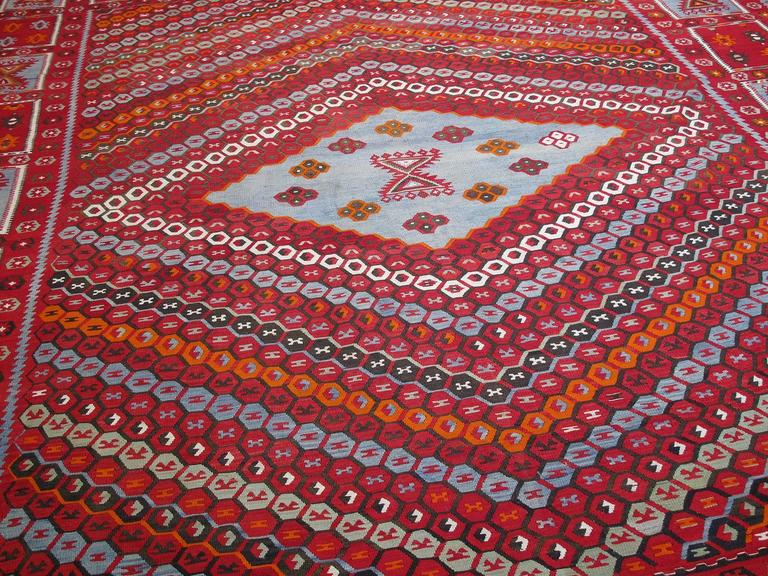 Superb Antique Sharkisla Kilim In Excellent Condition For Sale In New York, NY