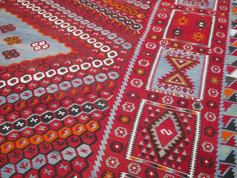 20th Century Superb Antique Sharkisla Kilim For Sale