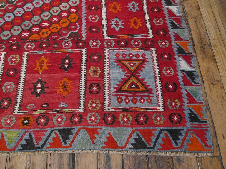 Superb Antique Sharkisla Kilim For Sale 2