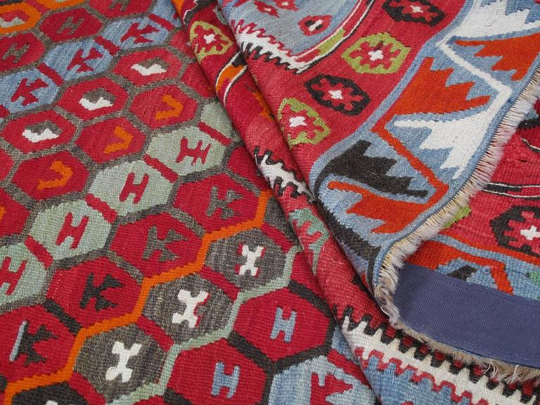 Superb Antique Sharkisla Kilim For Sale 1