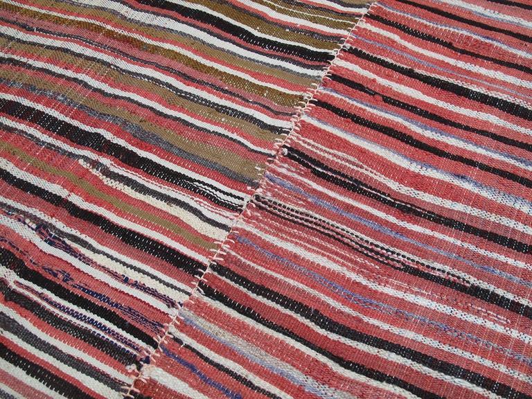 Striped Mazanderan Kilim 5