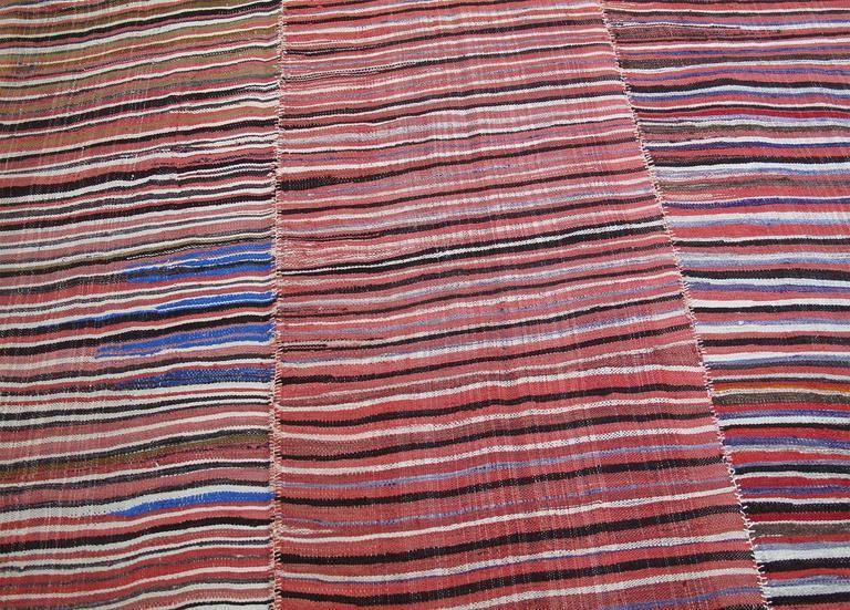 Striped Mazanderan Kilim 3