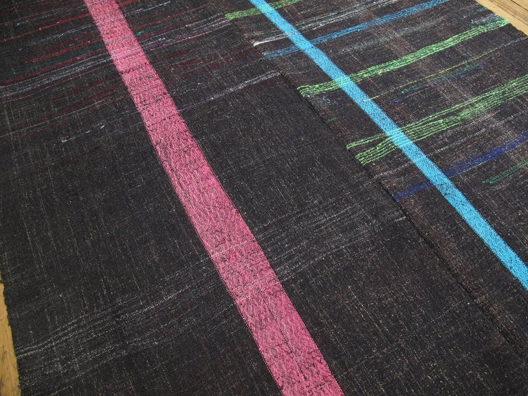 Kilim Neon on Goat Hair For Sale