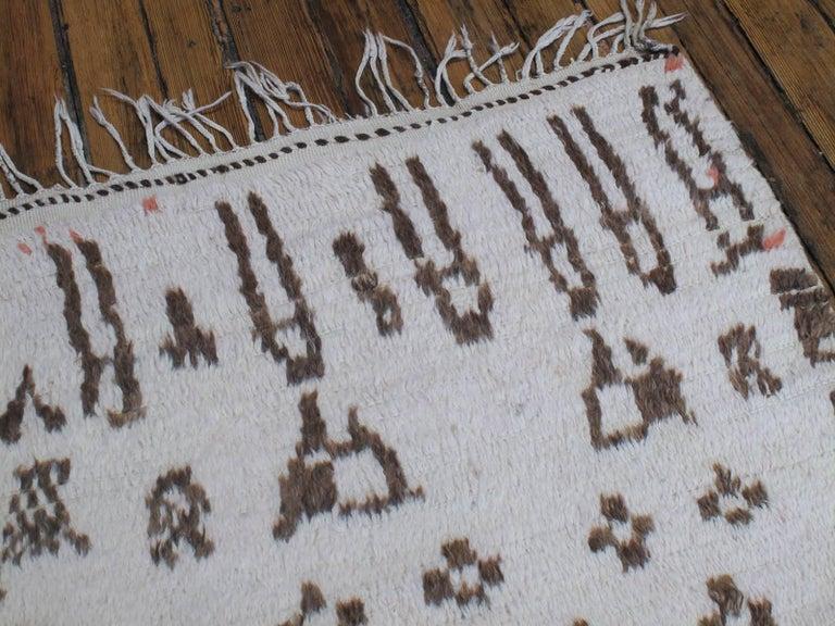 Wool Older Azilal Berber Rug For Sale
