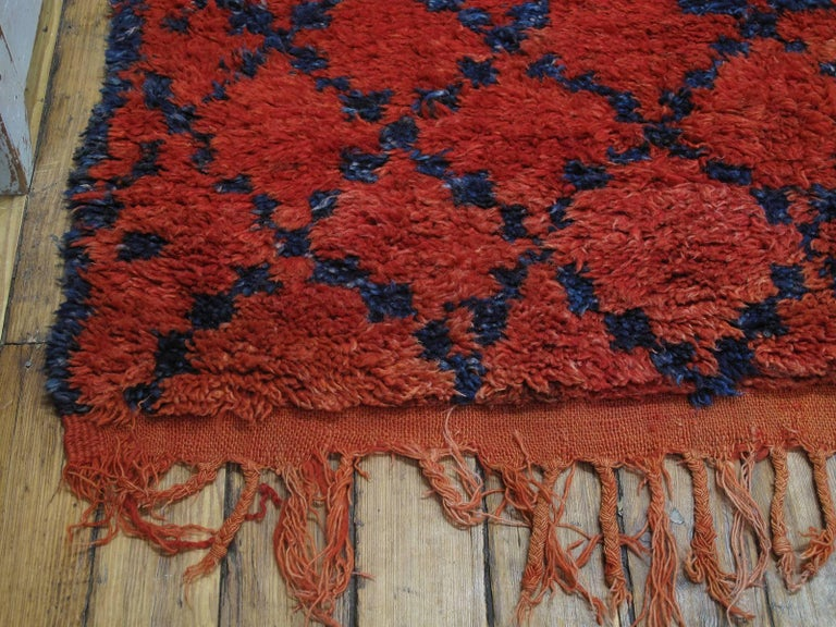Wool Ait Sgougou Berber Rug For Sale