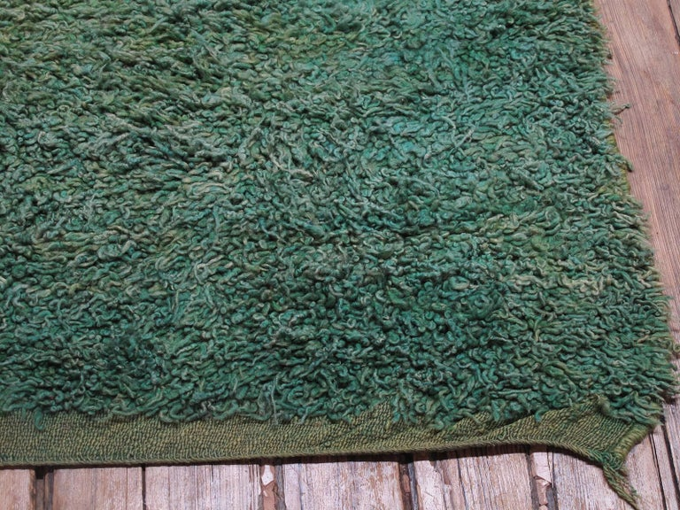 Green Moroccan Berber Rug For Sale 1