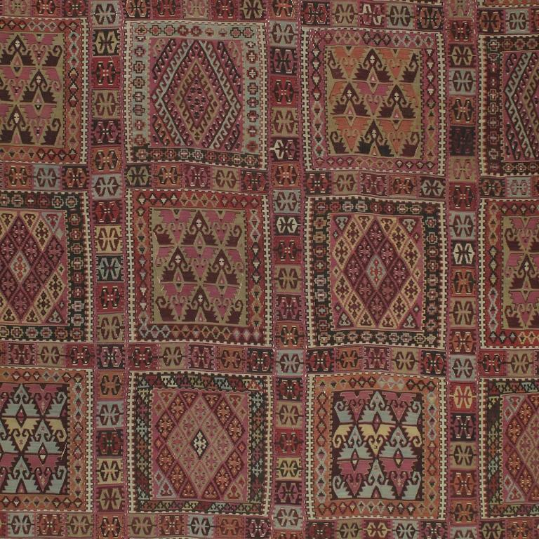 Turkish Superb Antique East Anatolian Kilim Rug For Sale
