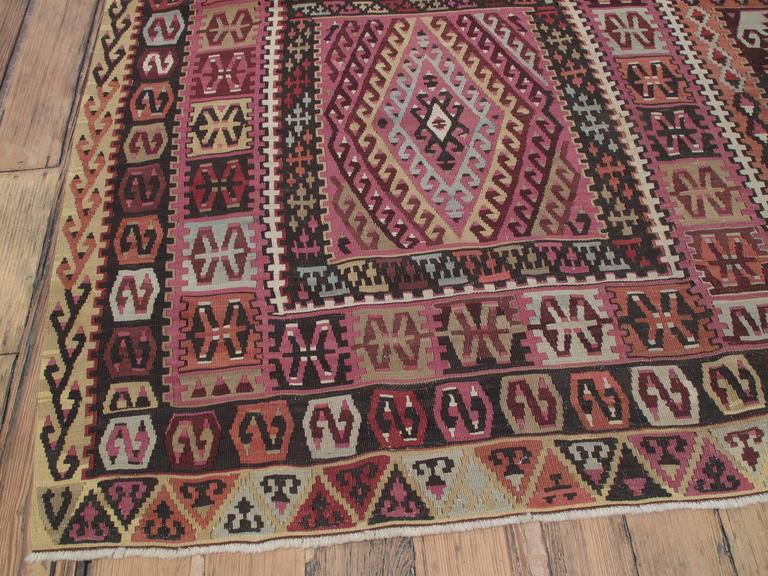 Superb Antique East Anatolian Kilim Rug For Sale 1