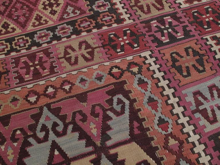Wool Superb Antique East Anatolian Kilim Rug For Sale