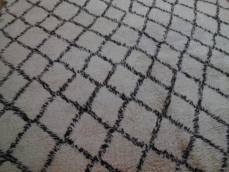 Massive Beni Ouarain Moroccan Carpet 3