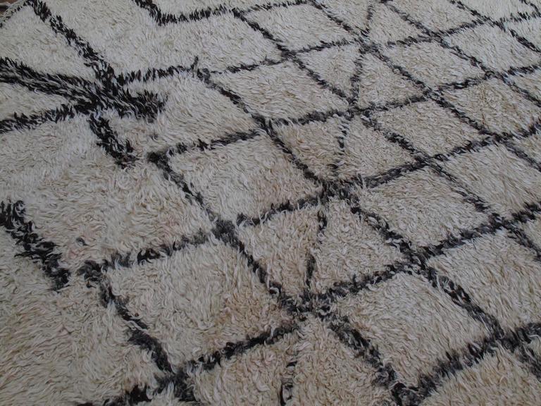 Massive Beni Ouarain Moroccan Carpet 5
