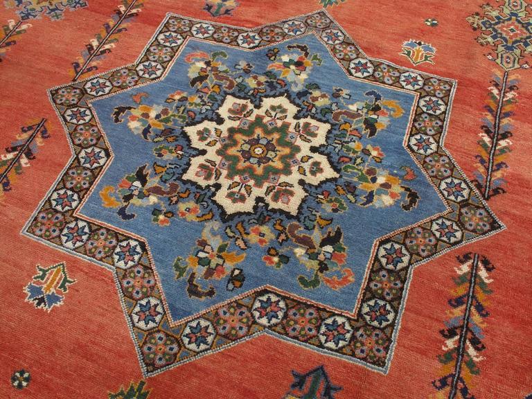 Antique Rabat Carpet At 1stdibs
