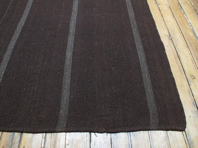 Large And Square Goat Hair Kilim At 1stdibs