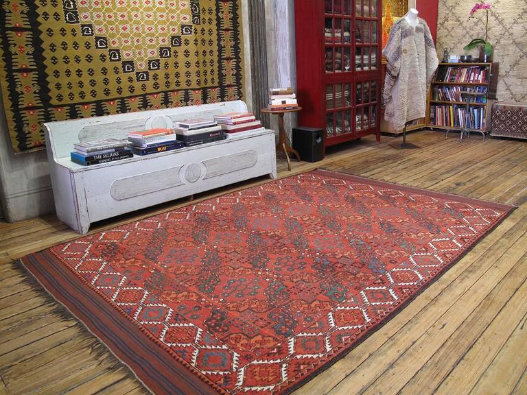 Tribal Antique Ersari Main Carpet For Sale