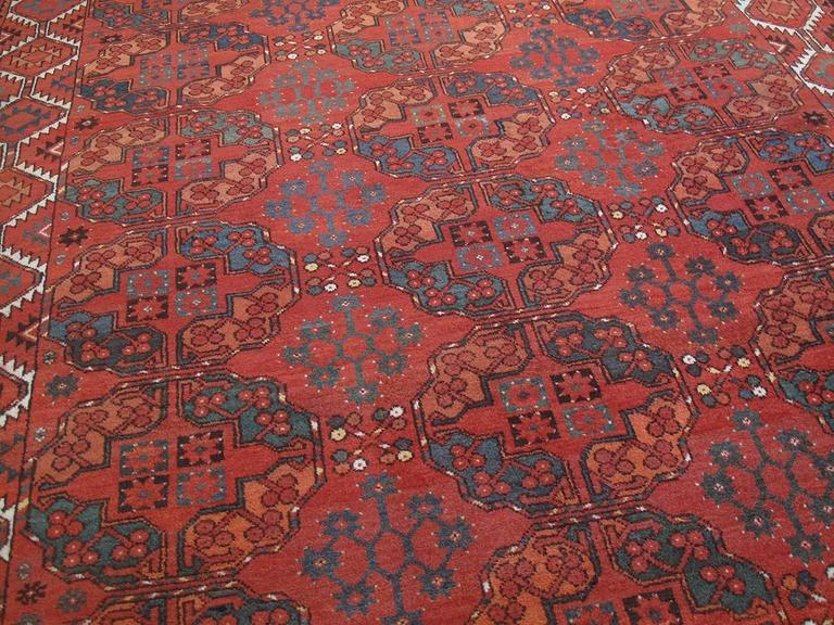 Turkmen Antique Ersari Main Carpet For Sale