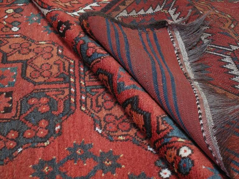 Wool Antique Ersari Main Carpet For Sale