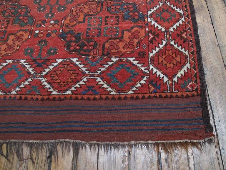 Antique Ersari Main Carpet For Sale 1