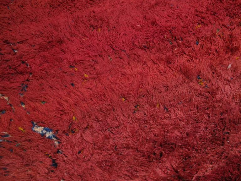 "20th Century ""Firebird"", Zayan Moroccan Berber Carpet For Sale"