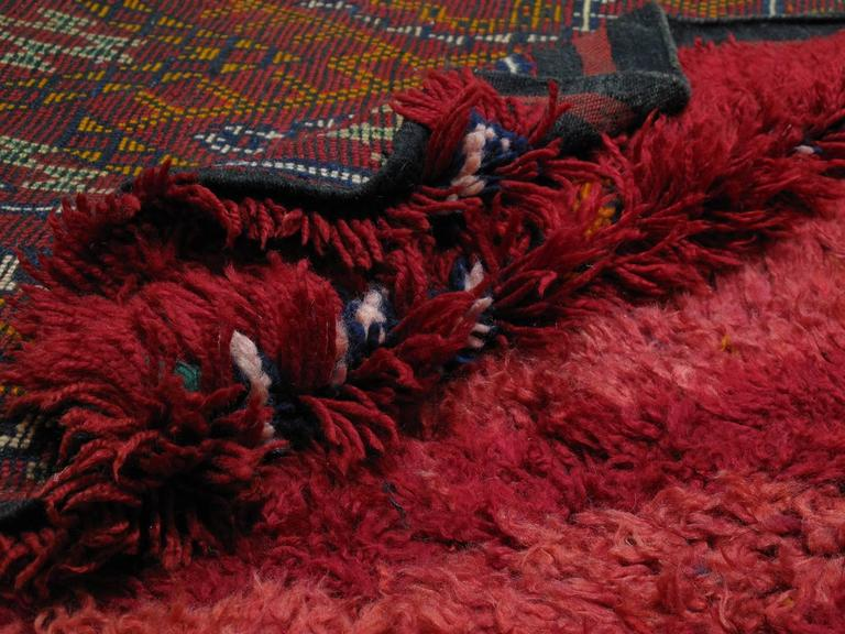 """Firebird"", Zayan Moroccan Berber Carpet For Sale 1"