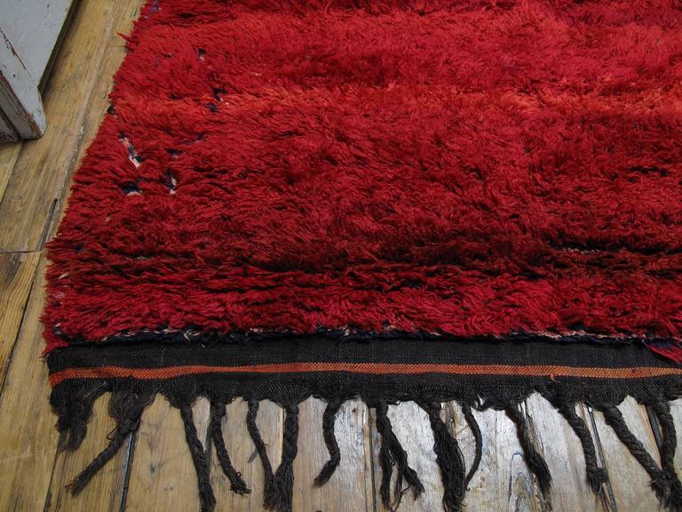 """Firebird"", Zayan Moroccan Berber Carpet For Sale 2"